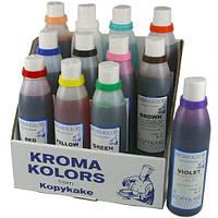 Пищевые чернила для пищевого принтера и аэрографа125мл(код 02036)персик