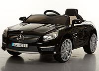 Детский электромобиль Mercedes  ,кожаное сиденье,Мягкие EVA колёса