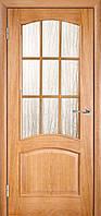 Межкомнатные двери ТМ Галерея Дверей Модель Капри-3 ПО (под остекление)