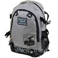 Городской рюкзак нейлоновый Lanpad 3371 серый
