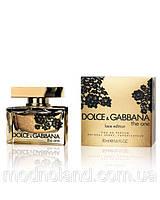Женская парфюмированная вода Dolce & Gabbana The One Lace Edition 75 ml (Дольче Габанна Зе Ван )