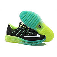 "Кроссовки Nike Air Max 2016 ""Black/Green/Lime"", фото 1"