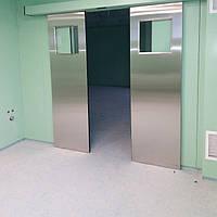 Автоматические раздвижные двери для медицинских учреждений