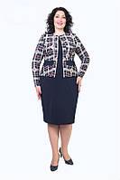 Трикотажное женское  платье, фото 1