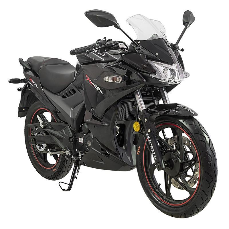 Спортивний мотоцикл Lifan LF200-10S (KPR) Чорний