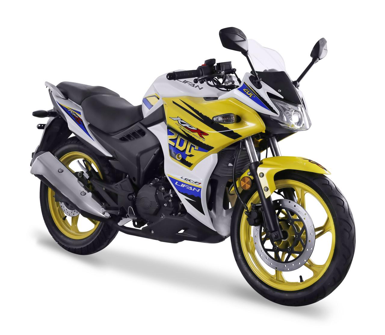 Спортивный мотоцикл Lifan LF200-10S (KPR) Limited