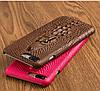 """SONY F5122 X оригинальный чехол бампер накладка панель НАТУРАЛЬНАЯ КОЖА 3D рельеф для телефона """"LUXURY ONE"""", фото 3"""