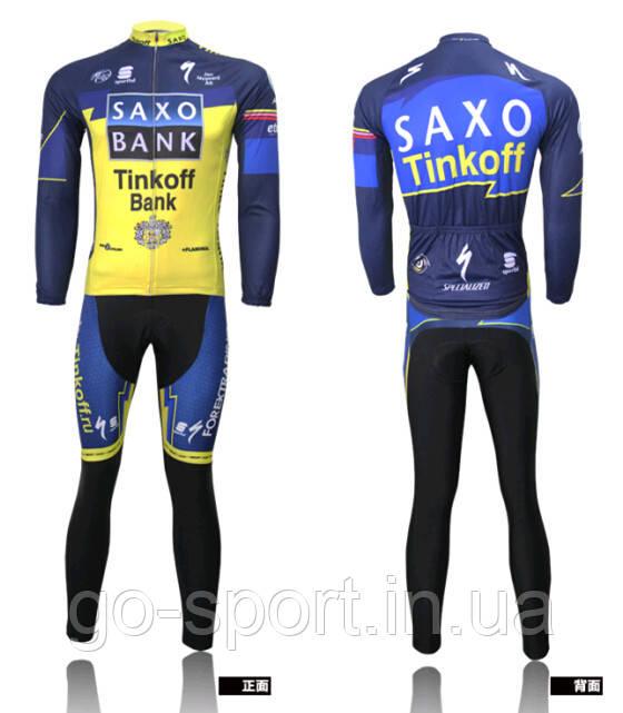 ДЕМИСЕЗОННАЯ Велоформа Saxo Bank 2010 v3 bib
