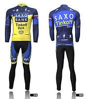 ДЕМИСЕЗОННАЯ Велоформа Saxo Bank 2010 v3 bib, фото 1