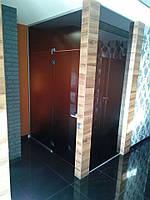 Стеклянная дверь. Изготовление, установка