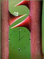 "Картина-часы (50х70 см) ""Шипы розы"""
