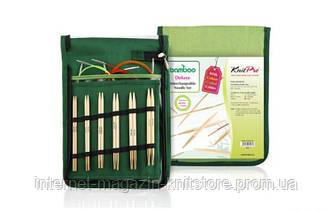 Набор съёмных спиц Deluxe Bamboo KnitPro