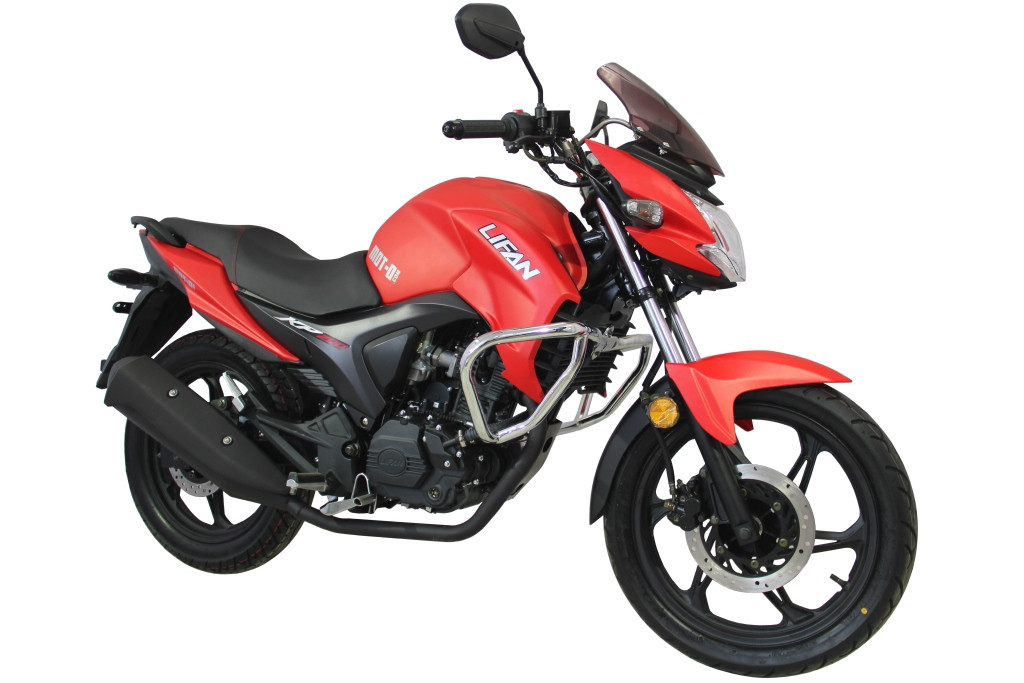 Мотоцикл Lifan KP200 ( Irokez 200 ) Красный мат
