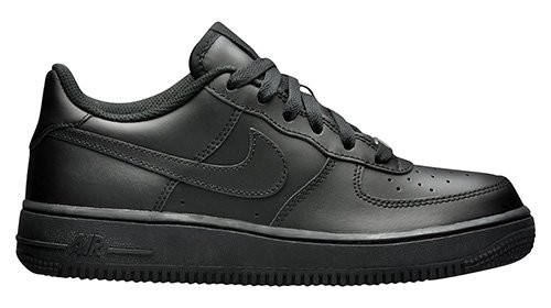 """Женские кроссовки Nike Air Force 1 Low (GS) """"All Black"""""""