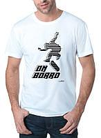 On Board - Футболка Мужская с Дизайном