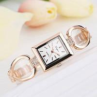 Золотые женские часы браслет