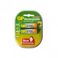 Аккумулятор AA 2700 Батарейка GP rechargeable Новое поколение 2017
