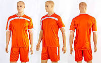 Футбольная форма Wave CO-4475-OR (PL, р-р M-XXL, оранжевый, шорты оранжевые)