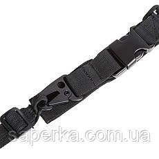 Ремень оружейный трехточечный для автомата Black ST-3 5638 , фото 2