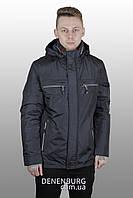 Куртка мужская демисезонная CORBONA 216-B030 тёмно-синяя, фото 1