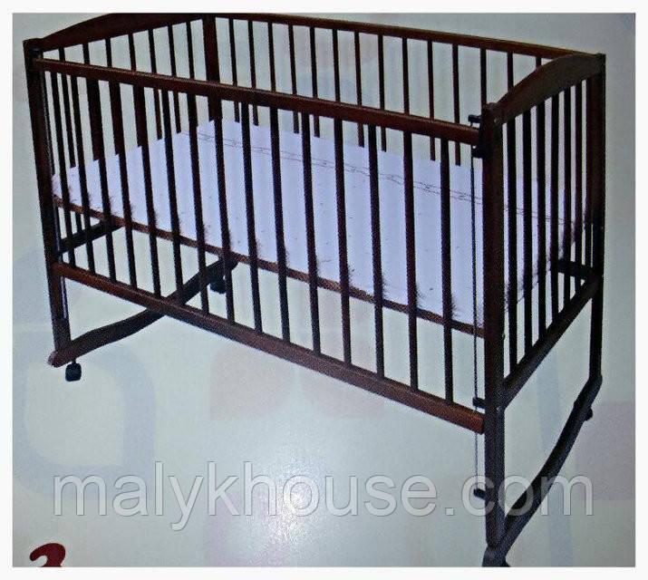 Кроватка для новорожденных тм Дубок на дугах