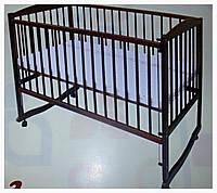 Кроватка для новорожденных тм Дубок на дугах, фото 1
