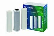Комплект картриджей для систем FP3 стандарт Aquafilter FP3-CRT