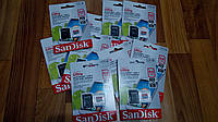 Карта памяти + Adapter MicroSDXC SanDisk Ultra 64 GB 10 class