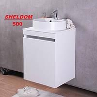 Мебель для ванной влагостойкая Fancy Marble Sheldon 50 см