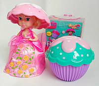 2 в 1. Кукла - пироженое! С запахом!cupcake surprise doll