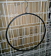 Вешалка для трусов круглая пластиковая чёрная 36 см