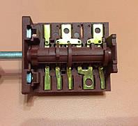 Перемикач п'ятипозиційний AC601A (AC6) / 16А / 250V / Т150 (контакти зовні 6+7) JRGESON Туреччина, фото 1