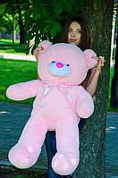 Плюшевый Мишка Бант Розовый 110см