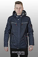 Куртка мужская демисезонная WINNER STILE W-6180 тёмно-синяя, фото 1