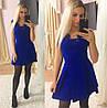 Платье  дайвинг и кружево юбка в складку, фото 4