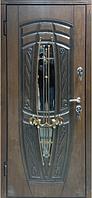 Дверь Портала Премиум 950*2040*85 Винори-Винорит Монако (Стек.пакет-ковка-3D+Патин) Golden Oak