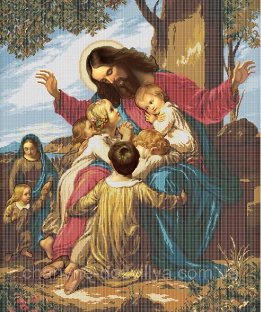 Иисус христос вышивки 192