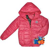 """Весенняя куртка """"Spring Wear"""" , болоньевая , на синтепоне для девочек (рост 116-140 см)"""