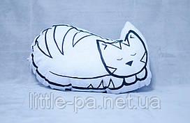 """Подушка из хлопка  """"Кошечка"""""""