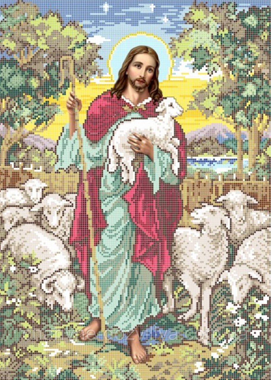 Вышивка добрый пастырь купить