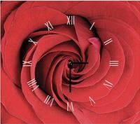 """Картина-часы (40х45 см) """"Роза"""""""