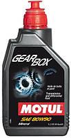 Масло для механических коробок передач и мостов Motul GEARBOX 80W-90 (1L)