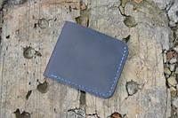Мужской бумажник классика компакт 3001 (синий)