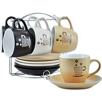 Сервиз чайный на стойке 12эл. 021-12-07