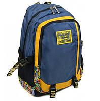 Городской рюкзак нейлоновый Lanpad 3374 голубой, фото 1