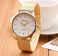 Женские часы наручные Женева золотые