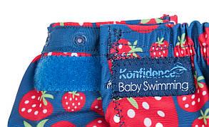 Трусики для плавания Konfidence Aquanappies, Цвет: Pink Hibiscus Flower, 3-30 мес, фото 2