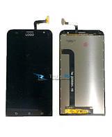 Модуль Дисплей Asus ZenFone 2 (ZE550KL) с тачскрином, чёрный