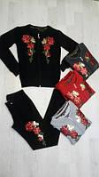 Спортивный костюм женский Billcee Турция трикотаж капюшон опт