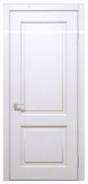 Межкомнатные двери Кандем глуха Емаль белоснежна